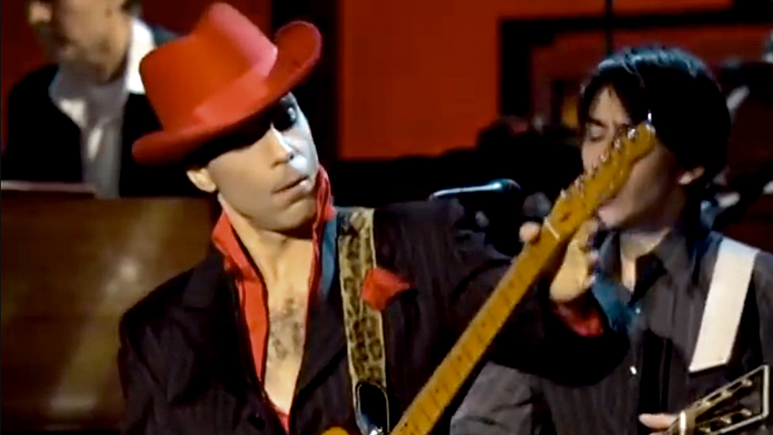 While my guitar gently weeps prince story