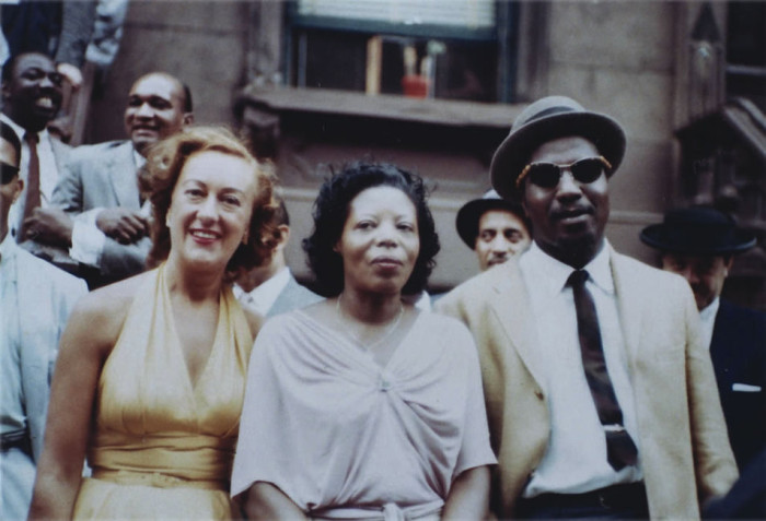 McPartland with Mary Lou Williams and Thelonious Monk